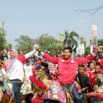 DPP TMP menggelar Kirab Kebhinnekaan di alun-alun Kabupaten Majalengka
