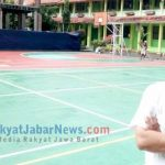 Wakasek bagian Kesiswaan SMAN 6 Kota Cirebon, Ayi Subhan seusai menunjukan lapangan sekolah
